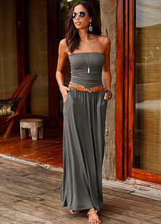 26af04c2027 Bandeau Maxi Dress by LASCANA