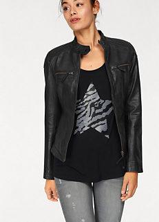785d72656f01c Biker Style Leather Jacket by AJC