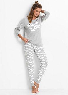 8fa24e35fda5 Cloud Print Pyjamas