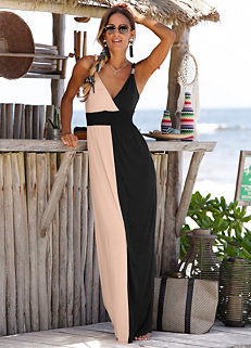 634cb98e31f Colour Block Maxi Dress by LASCANA