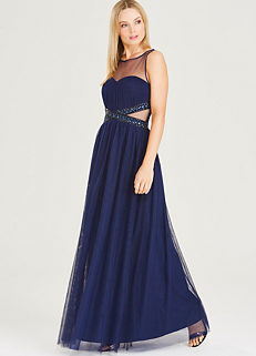 9a8f99e7cdf3 Embellished Maxi Dress by Little Mistress