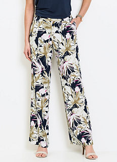 cebfe1c98e Floral Print Trousers by bpc selection