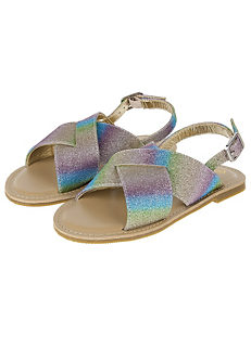fe7328d87eac77 Ombre Glitter Sandals by Accessorize Angels