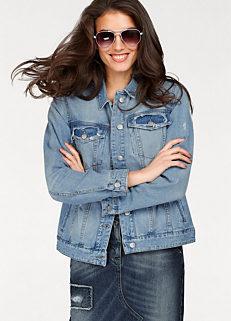 Worn Look Denim Jacket by Aniston