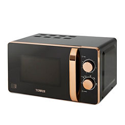 Up To 26% Off Tower Rose Gold Microwave