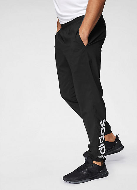 'Essentials Linear T Stanford' Track Pants by adidas Performance