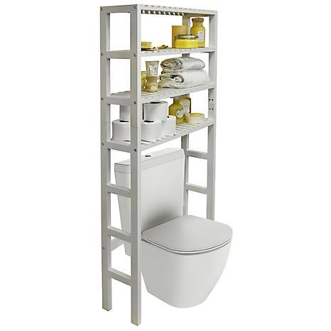 Bathroom Over Toilet Storage Unit With, Bathroom Toilet Storage