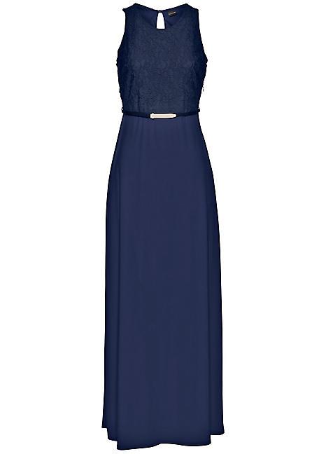 fb3d3e7450ad Belted Maxi Dress by BODYFLIRT