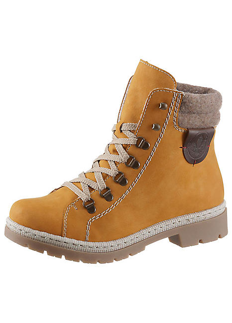 info for 1d4f4 1b2c5 Contrast Collar Winter Boots by Rieker