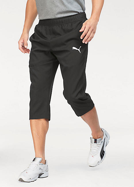 Ess Active Woven 3/4 Pants Track Pants by Puma | Look Again