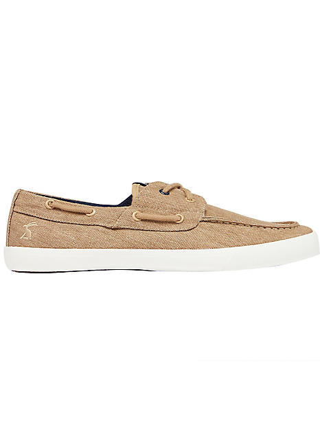 Falmouth Canvas Deck Shoes by Joules
