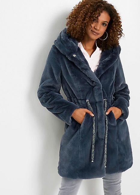 Faux Fur Coat By Bonprix Look Again, How To Dry Clean Faux Fur Coat
