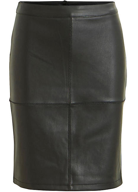 689641eec3 Faux Leather Skirt by Vila