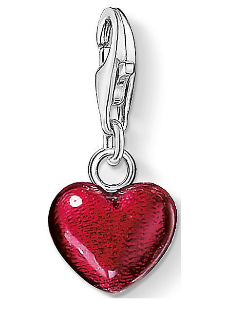 Thomas Sabo Charm pendant red heart red 0794-007-10 Thomas Sabo Wu35B
