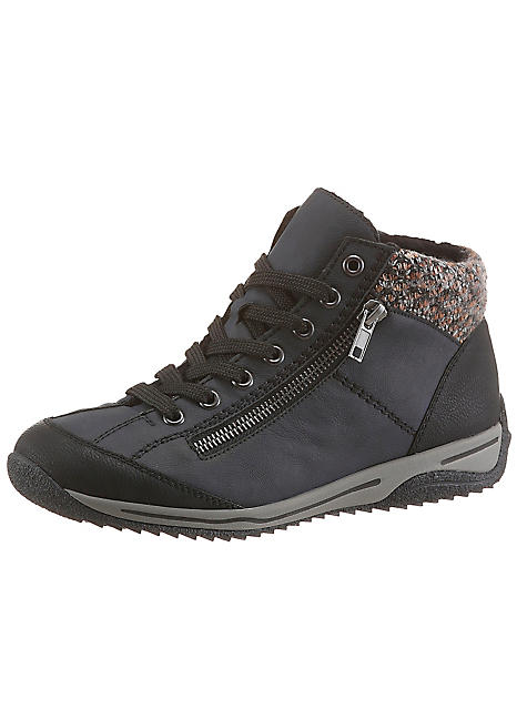 Lace-Up Walking Boots by Rieker   Look