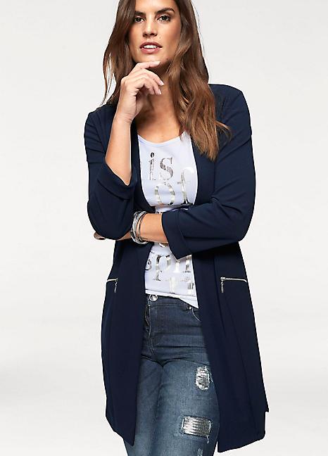 517e9cd5c27d Long Blazer by Laura Scott   Look Again