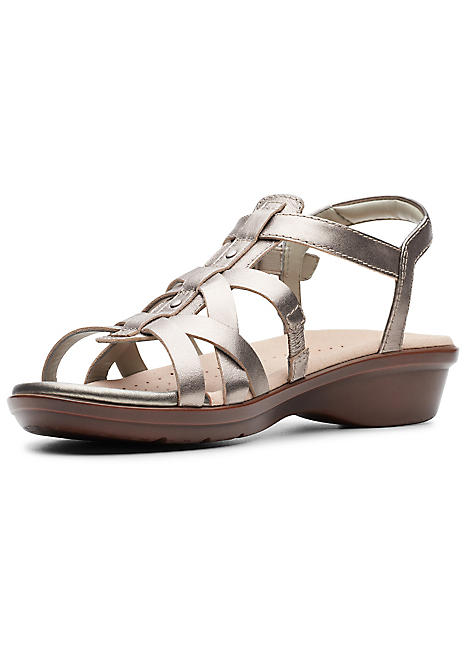 Sandals By Loomis Clarks Multi Katey Strap 35ARLqj4cS