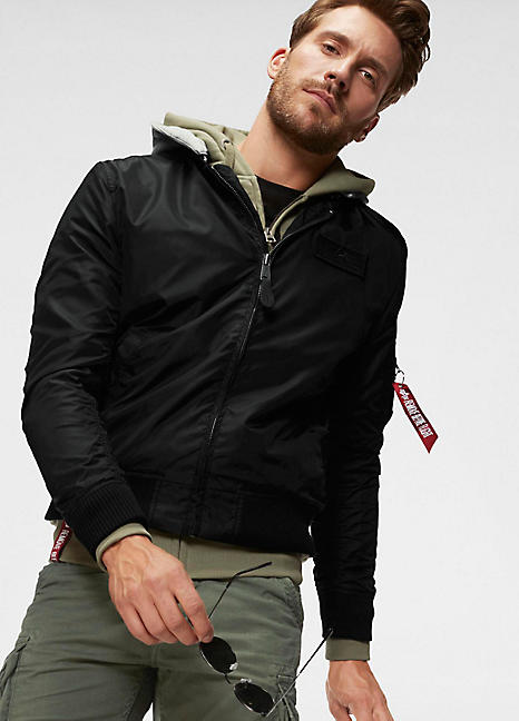 29ac81013 MA-1 TT Hood Bomber Jacket by Alpha Industries