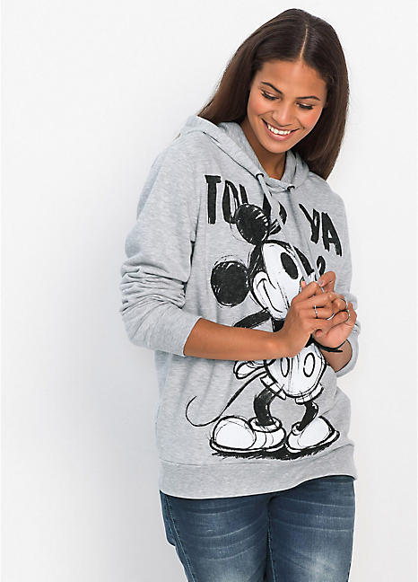 c6636e5e Marl Mickey Mouse Hoodie by Disney | Look Again
