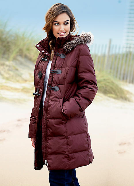 Quilted Duffle Coat