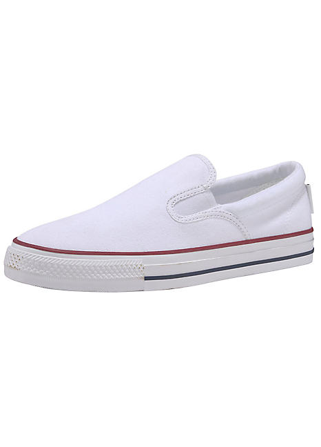 Slip-On Canvas Pumps by Converse | Look