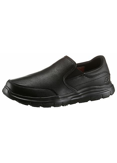 Slip On Work Shoes by Skechers   Look Again