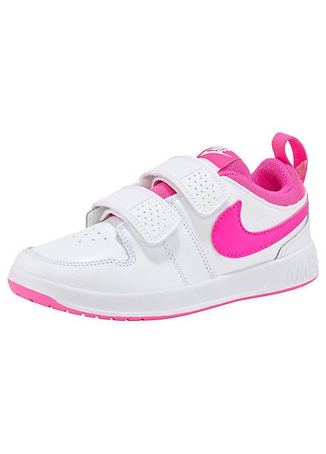 Sportswear Girls Velcro Strap Trainers