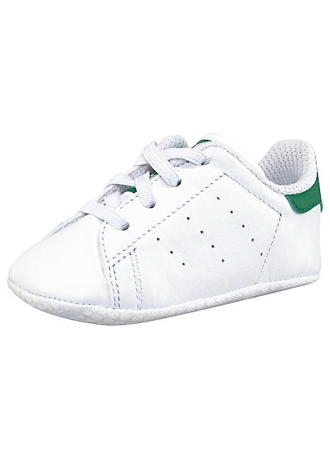 separation shoes 3cfb2 a71ae Stan Smith Crib Toddler Shoes by adidas Originals