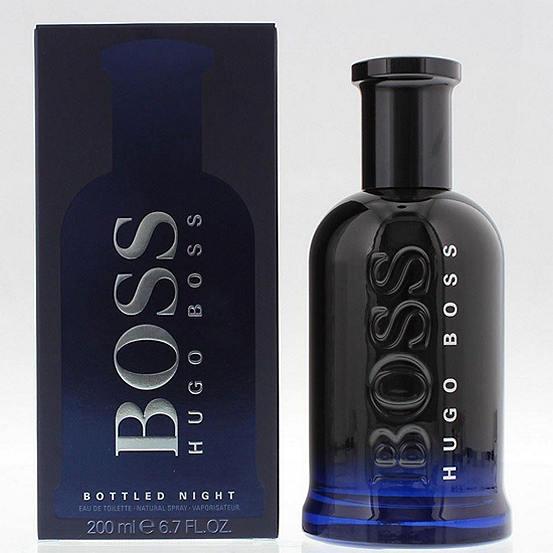 hugo boss bottled night 200ml