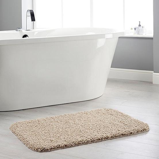 Buddy Shaggy Bath Mat Look Again