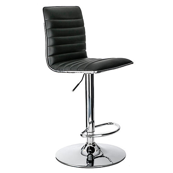 Peachy Colby Faux Leather Chrome High Back Bar Stool By Alphason Forskolin Free Trial Chair Design Images Forskolin Free Trialorg
