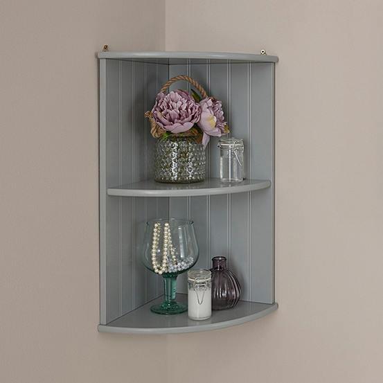 Cotswold Bathroom Corner Wall Shelf