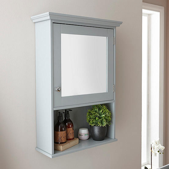 Cotswold Mirrored Bathroom Wall Cabinet Look Again