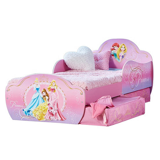 Disney Princess Toddler Bed By Hellohome Look Again