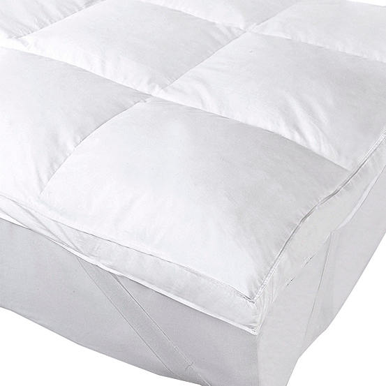 Luxury Feather Mattress Topper By Cascade Home Look Again