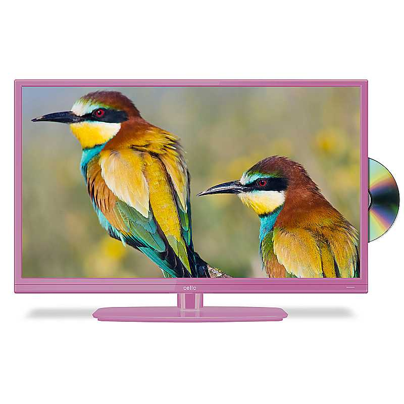 20 ins LED/DVD Combi C20230F by Cello - Pink
