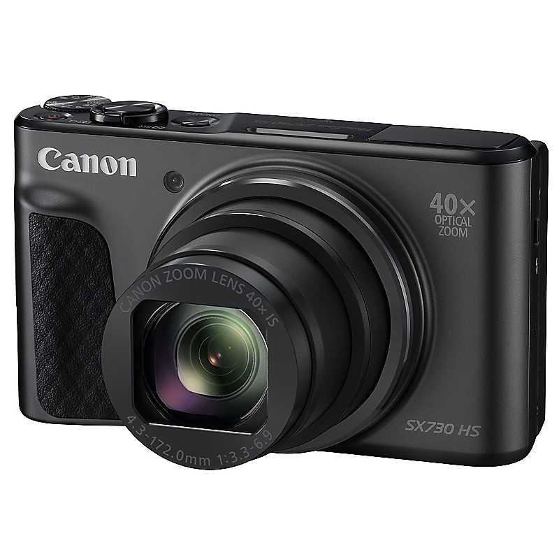 Canon SX730 HS Camera by Canon - Black