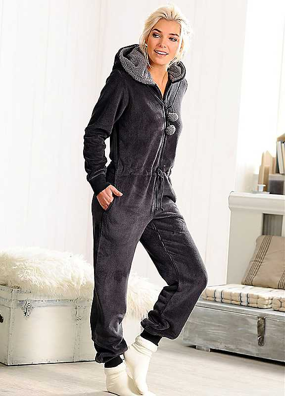 Hooded Onesie by Rebelle at Look Again