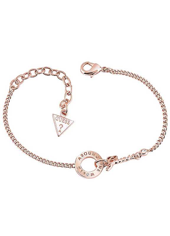 Ladies Rose Gold with Swarovski® Elements Bracelet by Guess