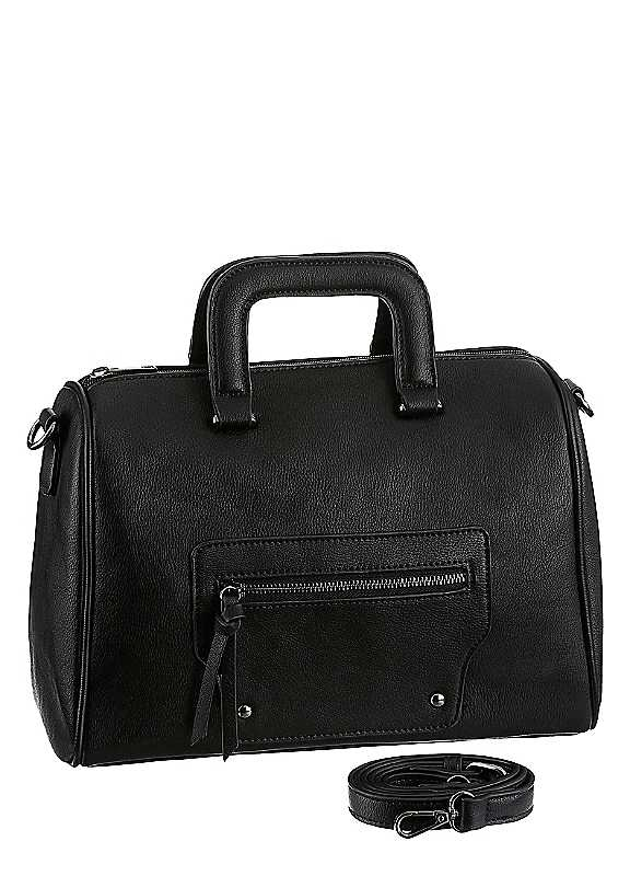 Leather Tote Bag by J.Jayz