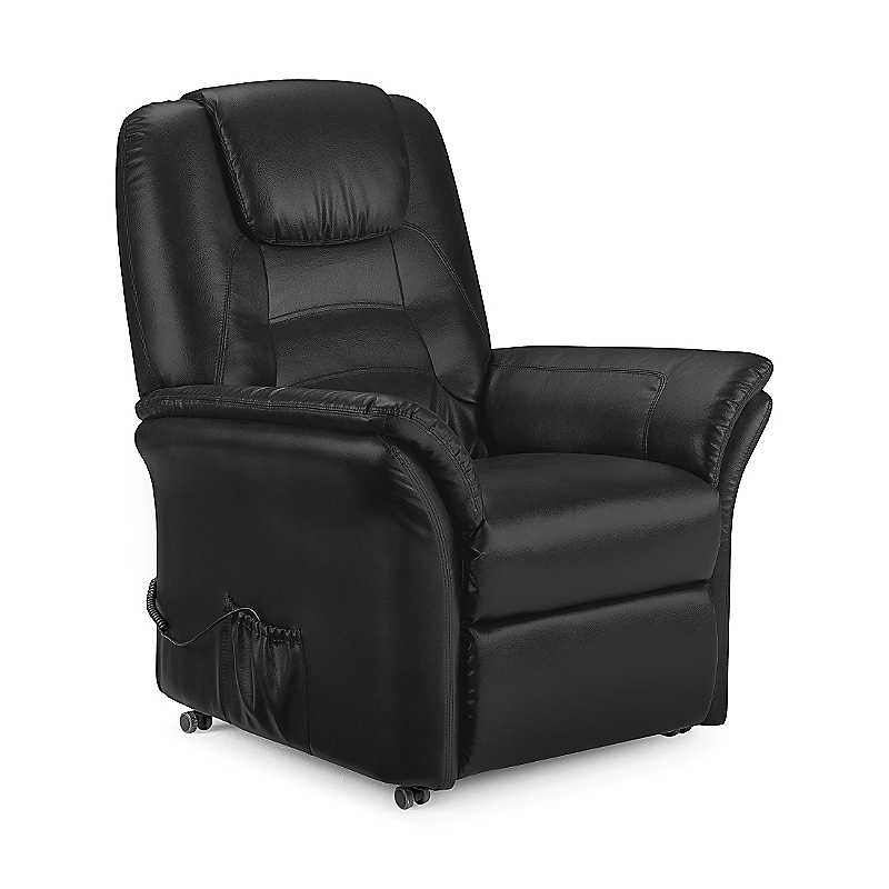 Riva Faux Leather Rise & Recliner Chair